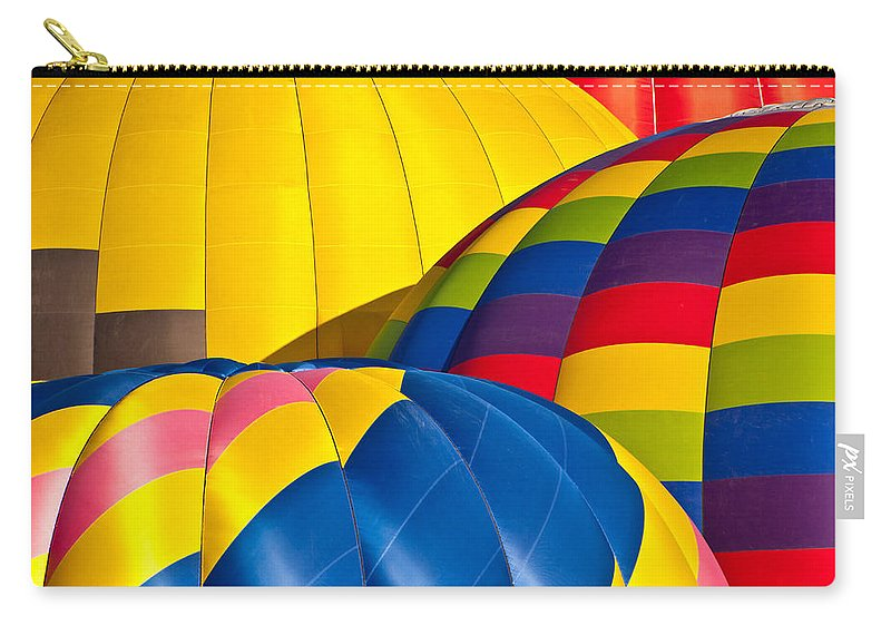 Hot Carry-all Pouch featuring the photograph Field Of Color by Colleen Coccia