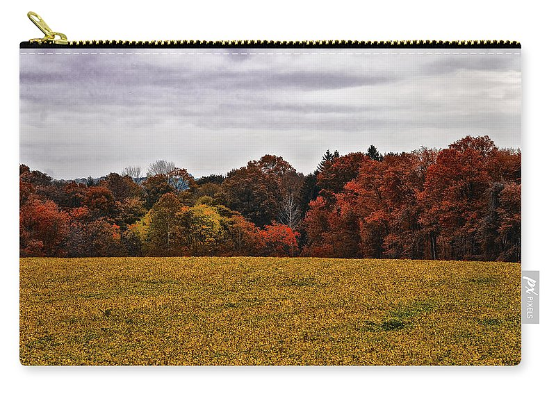 Fields Of Gold Carry-all Pouch featuring the photograph Fields Of Gold by Bill Cannon