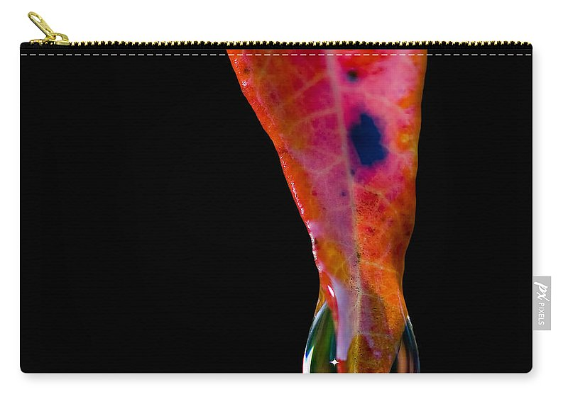Sumac Carry-all Pouch featuring the photograph Fire And Water by Doug Sturgess