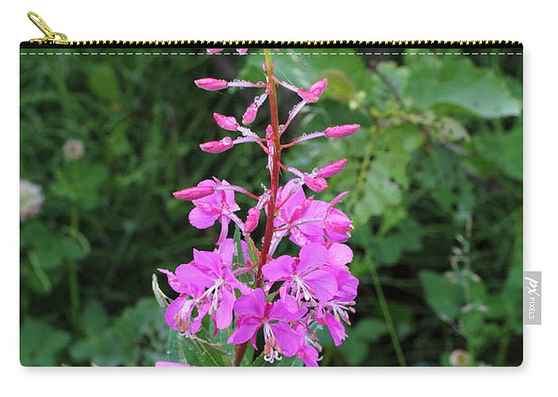 Doug Lloyd Carry-all Pouch featuring the photograph Fireweed by Doug Lloyd