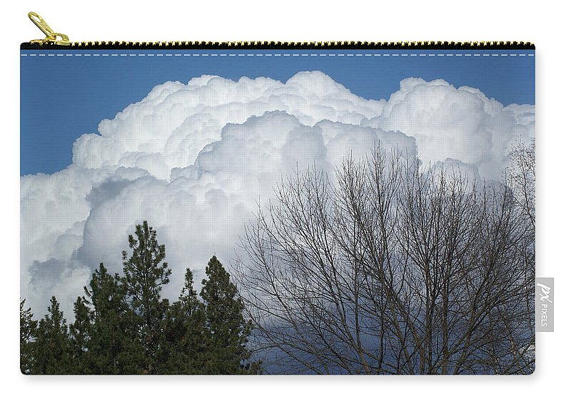 Clouds Carry-all Pouch featuring the photograph First Day Of Spring 2012 by Ben Upham III