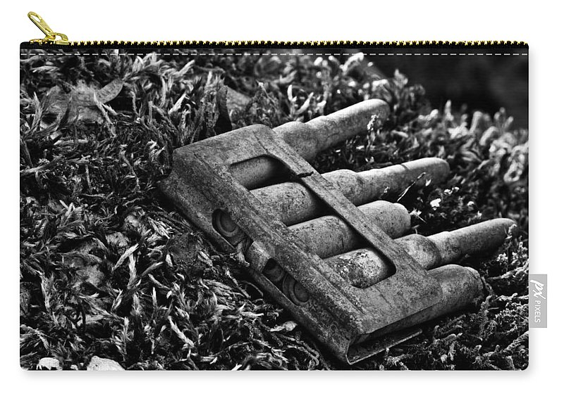 Ammo Carry-all Pouch featuring the photograph First World War Bullets by Ivan Slosar