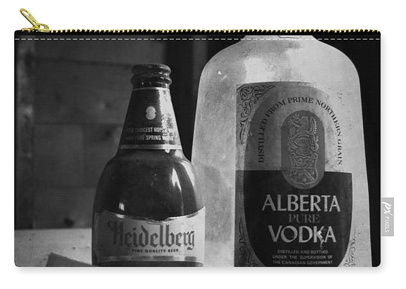Booze Carry-all Pouch featuring the photograph Five O Clock by The Artist Project