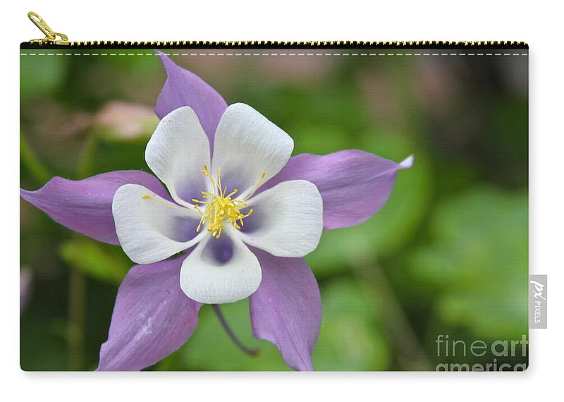 Flower Carry-all Pouch featuring the photograph Fives by Rick Monyahan