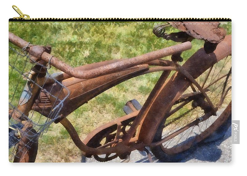 Rust Carry-all Pouch featuring the photograph Flat by Michelle Calkins