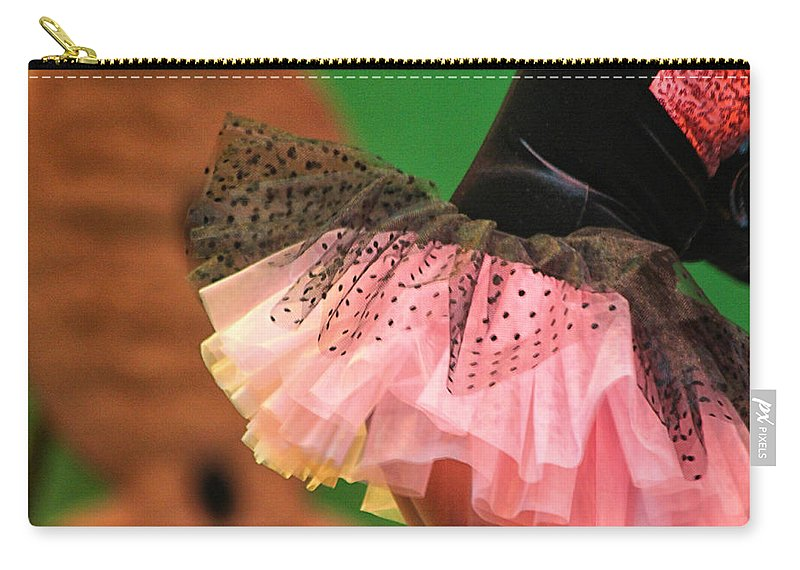 Ballet Carry-all Pouch featuring the photograph Flirty by Lauri Novak