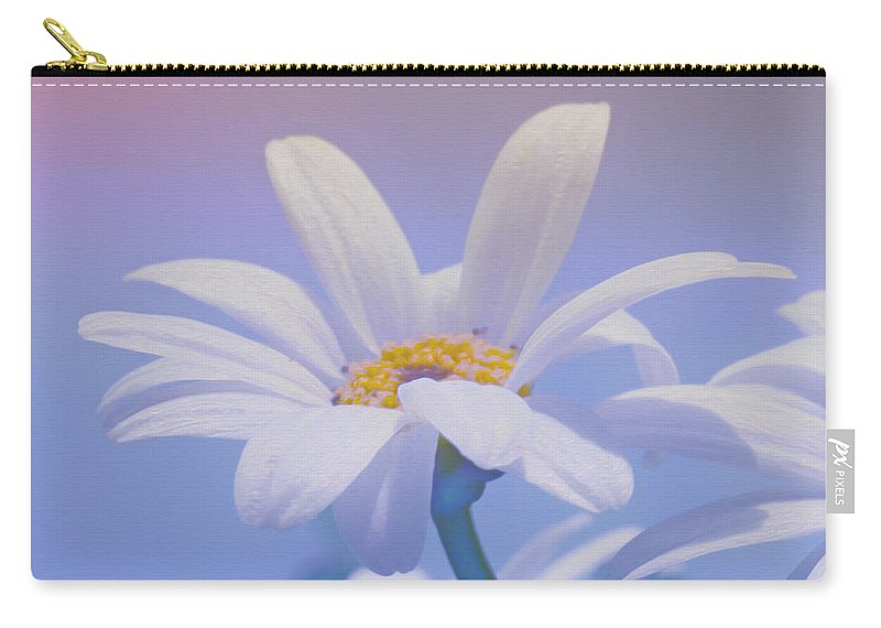 Photo Carry-all Pouch featuring the photograph Flower For You by Jutta Maria Pusl