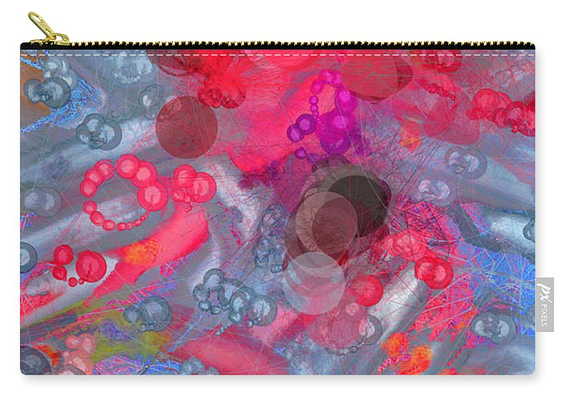 Abstract Carry-all Pouch featuring the photograph Flower Power by Betty LaRue