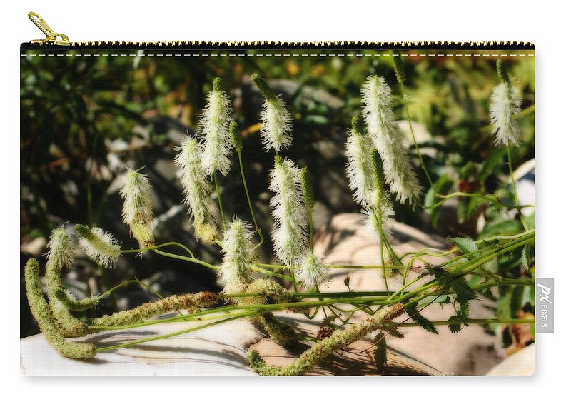 Flowers Carry-all Pouch featuring the photograph Flowers In The Sunshine by Smilin Eyes Treasures