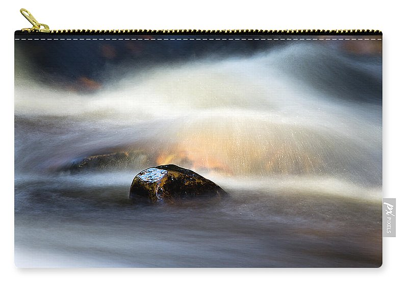 Hart Burn Carry-all Pouch featuring the photograph Flowing River II by David Pringle