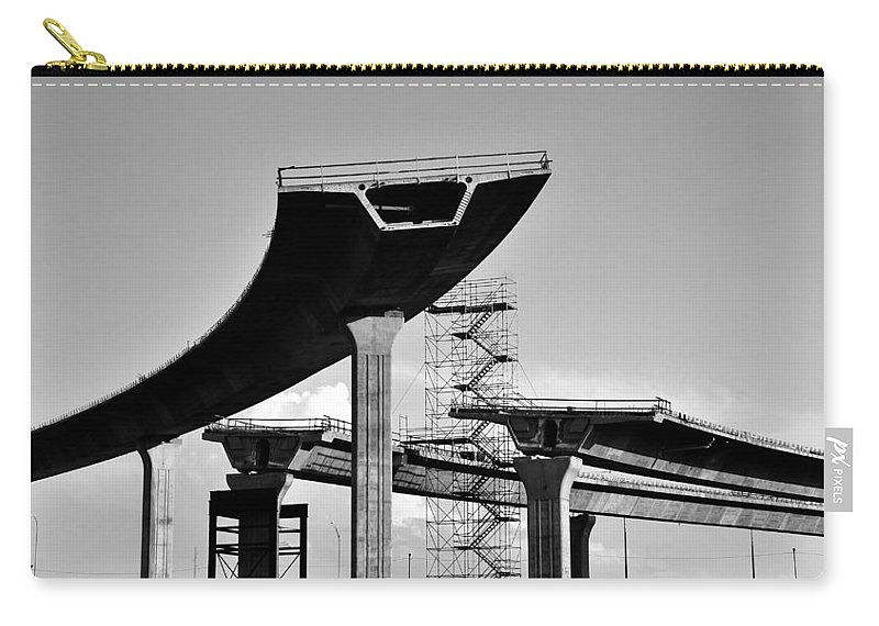 Fine Art Photography Carry-all Pouch featuring the photograph Fly Over by David Lee Thompson