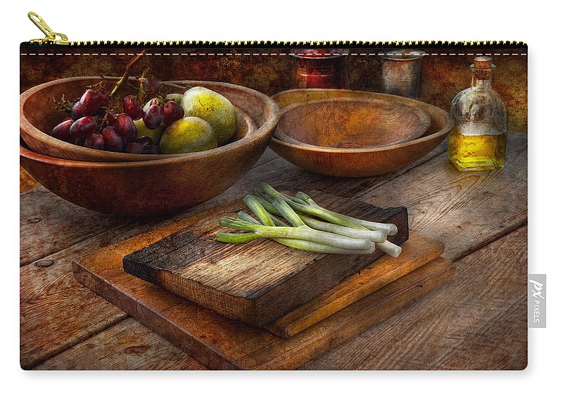 Chef Carry-all Pouch featuring the photograph Food - Vegetable - Garden Variety by Mike Savad