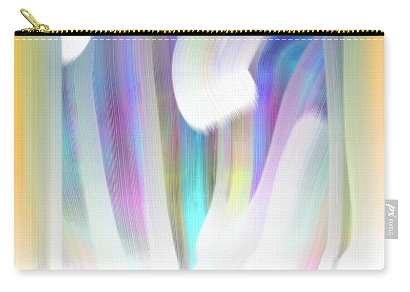 Forest Carry-all Pouch featuring the painting Forest Of Dreams by George Pedro