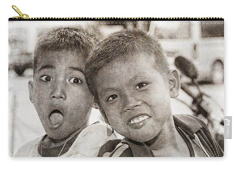 Abandoned Carry-all Pouch featuring the photograph Forgotten Faces 13 by Skip Nall
