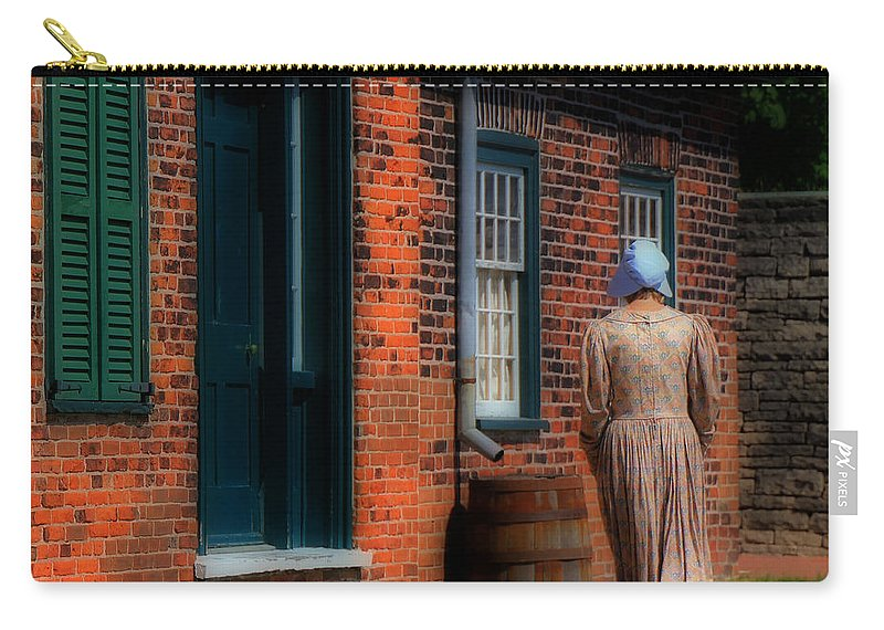 Fort York Carry-all Pouch featuring the photograph Fort York 1 by Andrew Fare