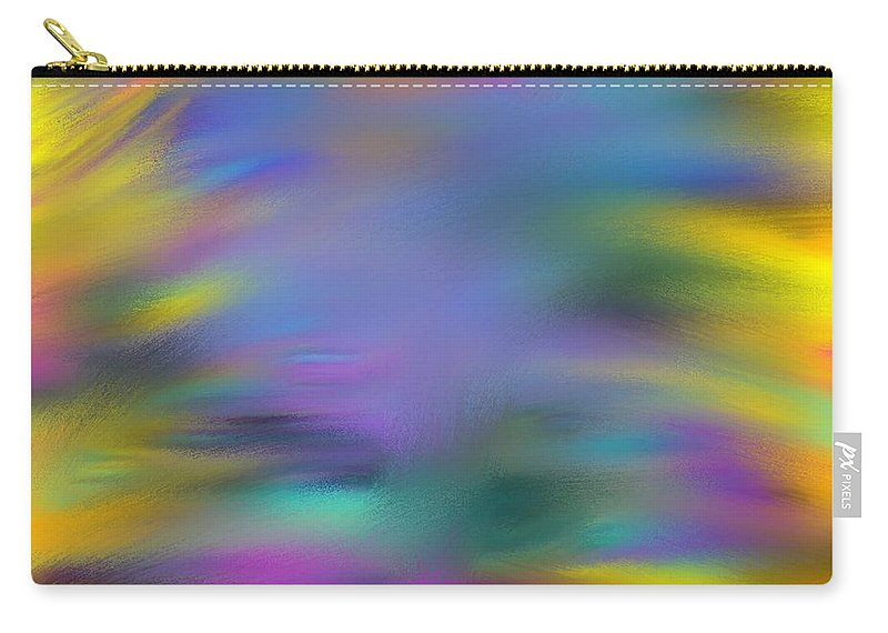 Fountain Carry-all Pouch featuring the painting Fountain Of Youth by George Pedro