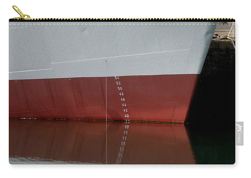 Ship Carry-all Pouch featuring the photograph France 1 by Lainie Wrightson