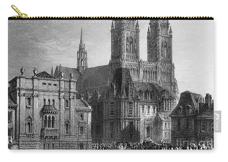 1835 Carry-all Pouch featuring the photograph France: Orleans by Granger