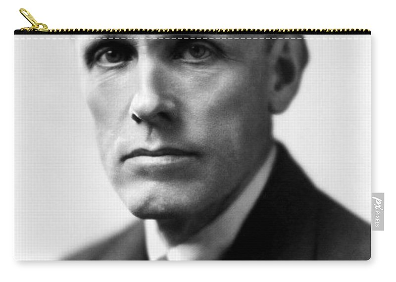 20th Century Carry-all Pouch featuring the photograph Frederic Ridgely Torrence by Granger
