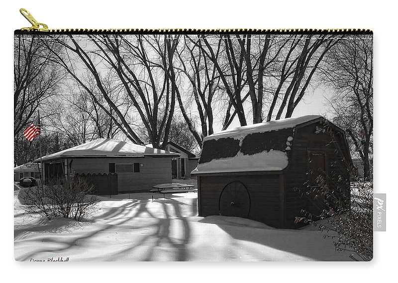 Winter Carry-all Pouch featuring the photograph Freedom From Winter by Donna Blackhall