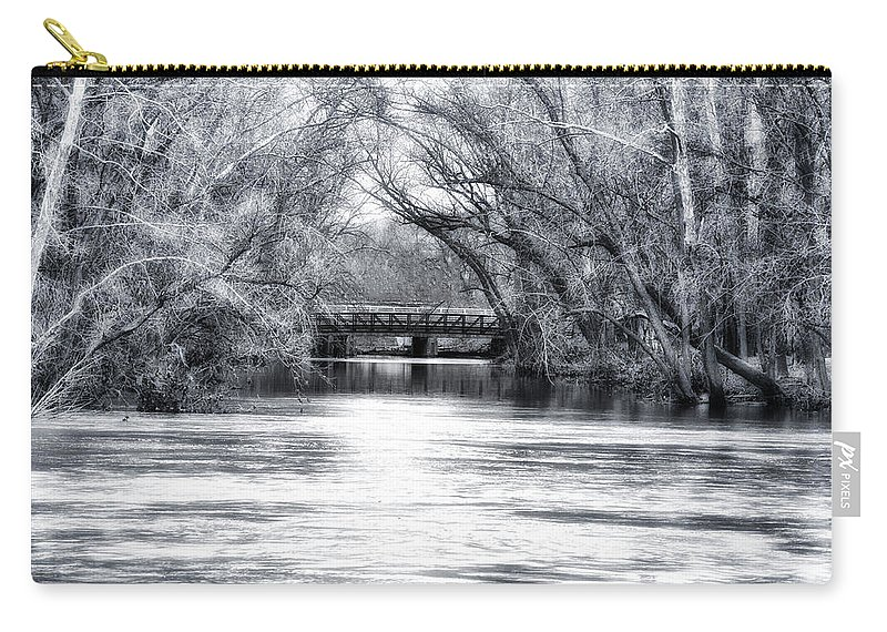 French Creek Carry-all Pouch featuring the photograph French Creek by Bill Cannon