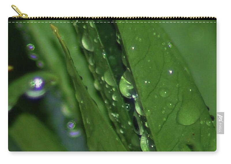 Water Carry-all Pouch featuring the photograph Fresh by Michael Merry