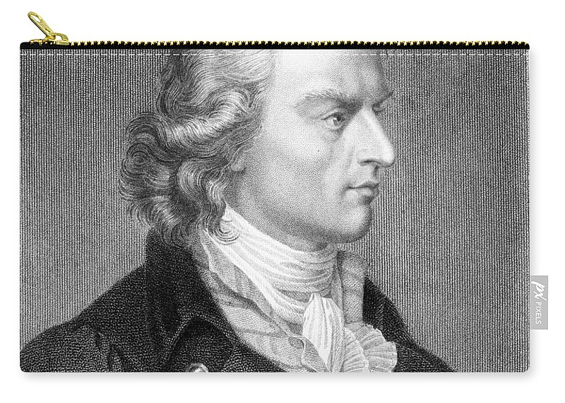 18th Century Carry-all Pouch featuring the photograph Friedrich Schiller by Granger