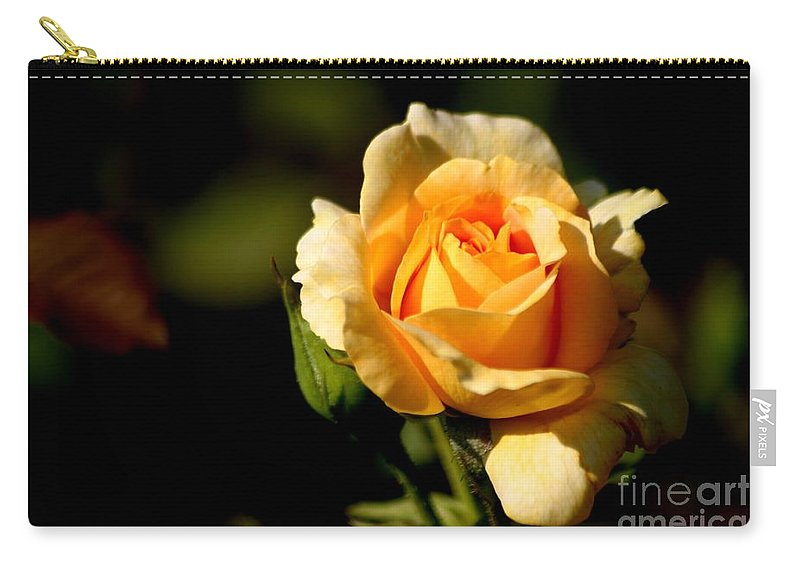 Roses Carry-all Pouch featuring the photograph Friendships Are Forever by Living Color Photography Lorraine Lynch
