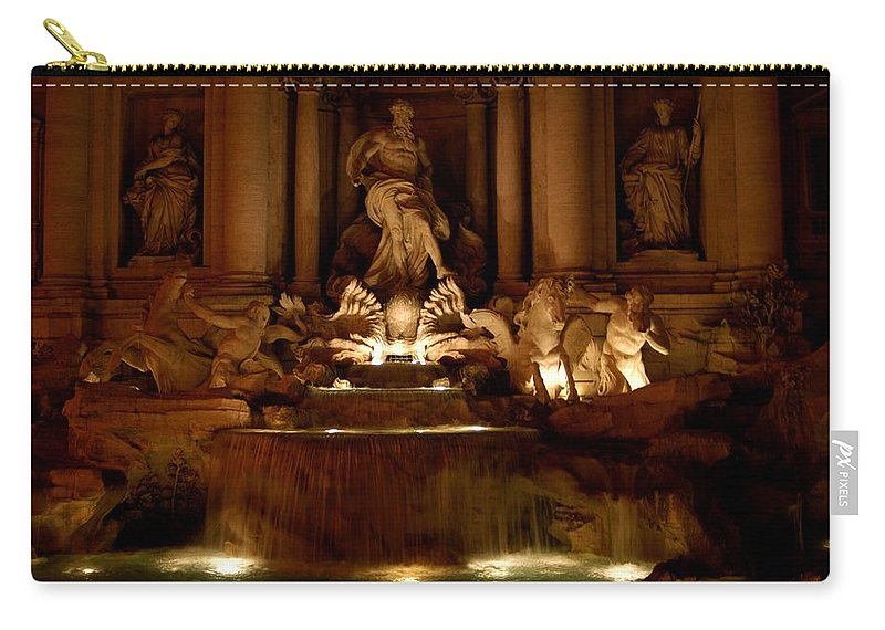 Italy Carry-all Pouch featuring the photograph Front Piocket by Joseph Yarbrough