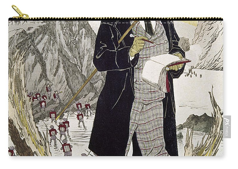1885 Carry-all Pouch featuring the photograph Fukuchi Genichiro by Granger