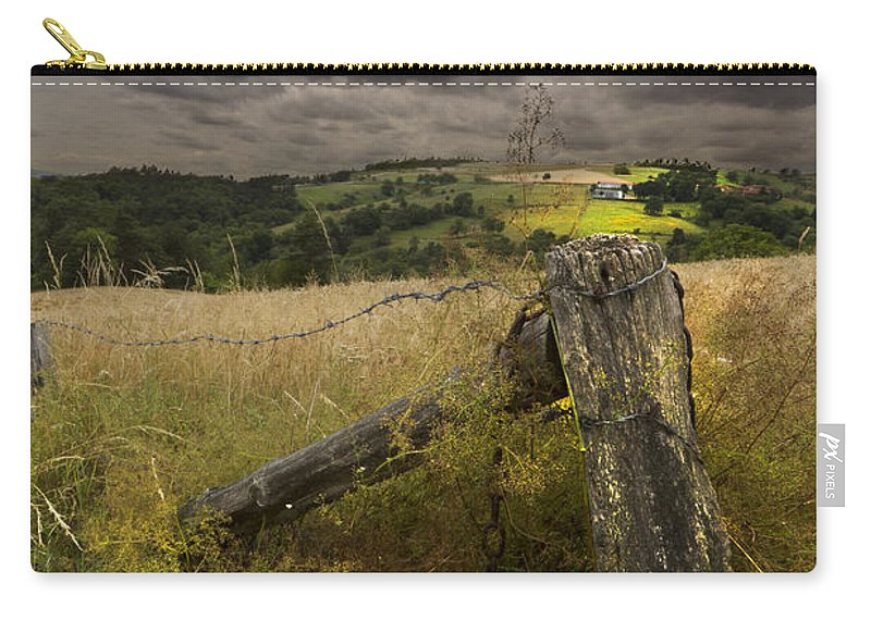 American Carry-all Pouch featuring the photograph Gate To Heaven by Debra and Dave Vanderlaan