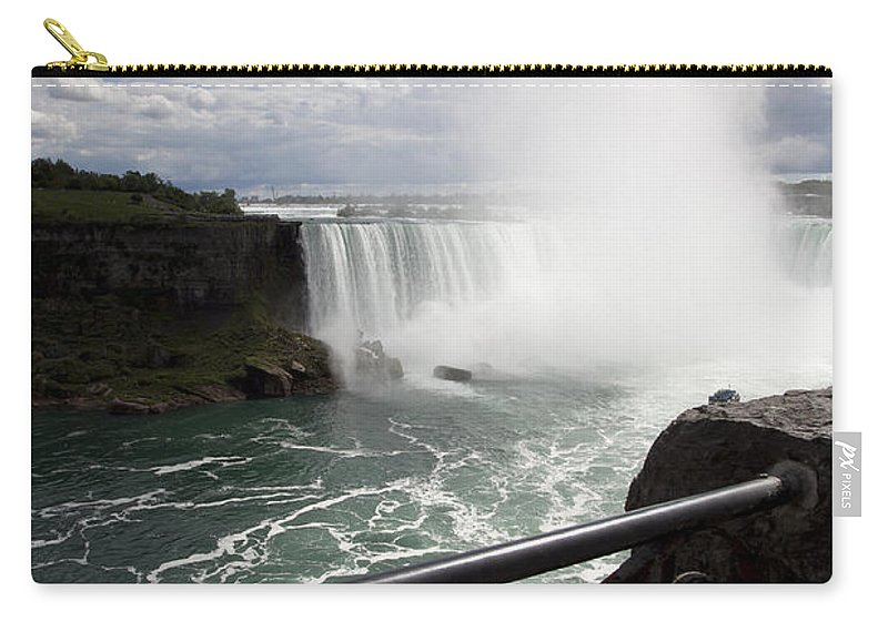 Niagara Carry-all Pouch featuring the photograph Gateway to Beauty by Amanda Barcon
