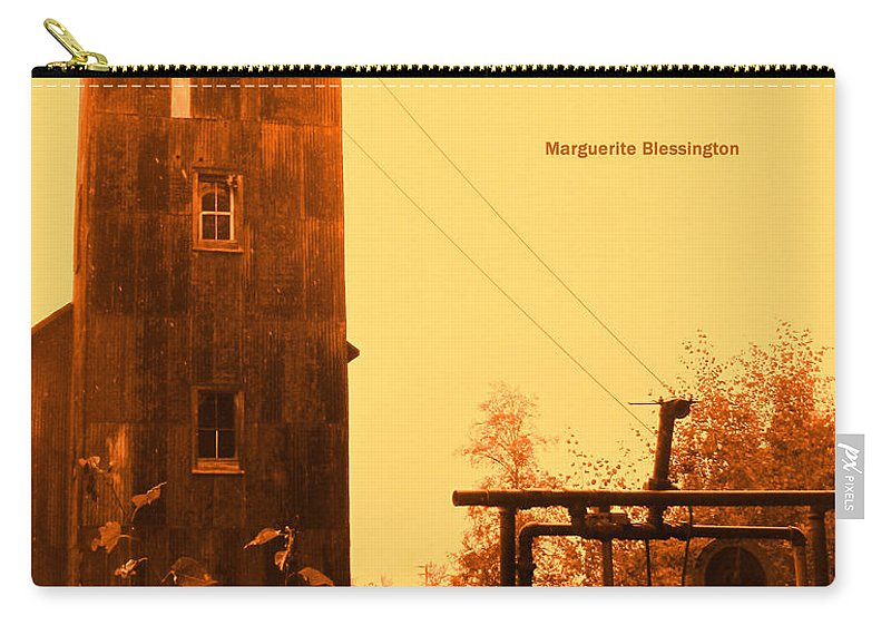 Poster Carry-all Pouch featuring the photograph Genius And Talent by Ian MacDonald