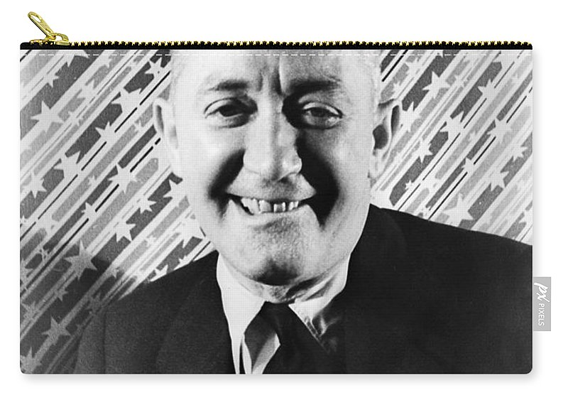 1933 Carry-all Pouch featuring the photograph George M. Cohen (1878-1942). George Michael Cohen. American Actor, Composer And Producer. Photographed By Carl Van Vechten, 1933 by Granger