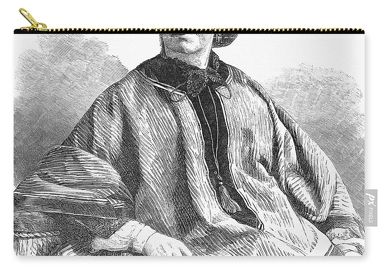 History Carry-all Pouch featuring the photograph George Sand, French Author And Feminist by Photo Researchers