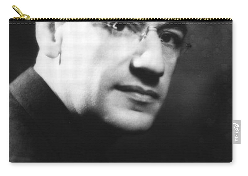 1930s Carry-all Pouch featuring the photograph George Simon Kaufman by Granger