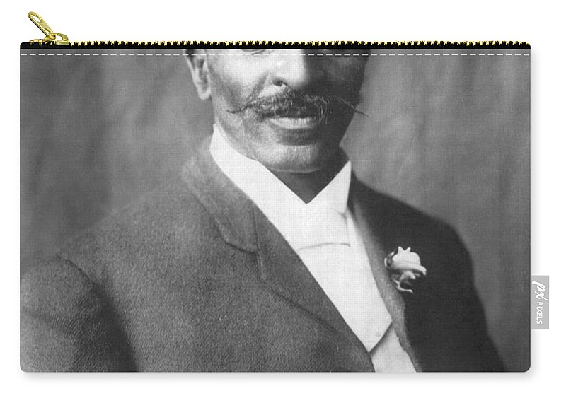 Science Carry-all Pouch featuring the photograph George W. Carver, African-american by Science Source