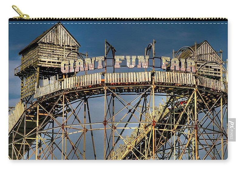 Fair Carry-all Pouch featuring the photograph Giant Fun Fair by Adrian Evans