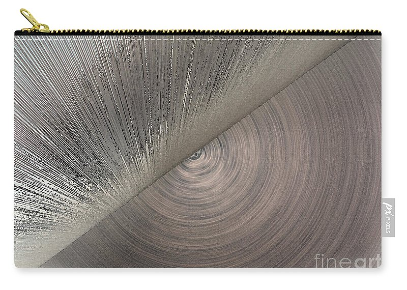 Abstract Carry-all Pouch featuring the photograph Giant's Eye by Ausra Huntington nee Paulauskaite