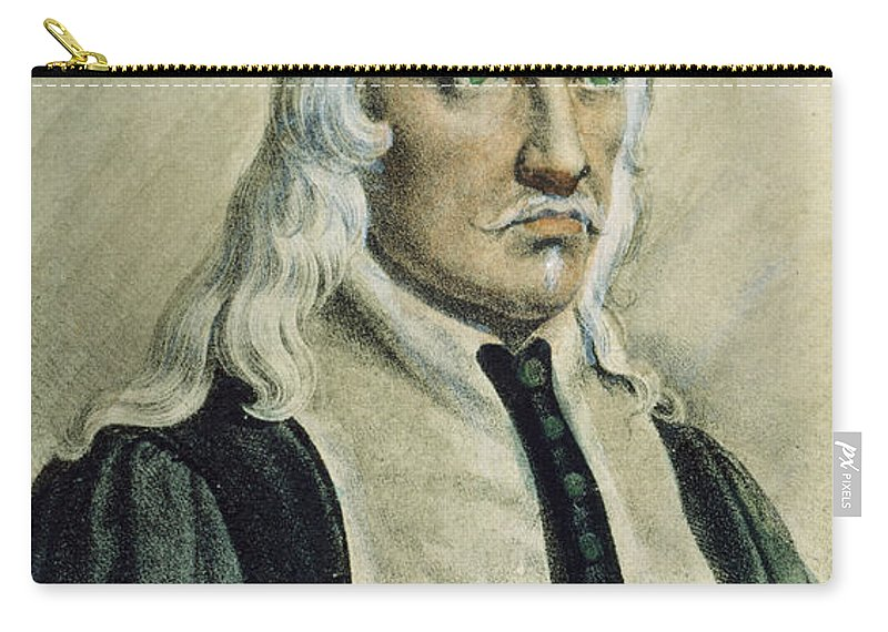 Alfonso Carry-all Pouch featuring the photograph Giovanni Alfonso Borelli by Granger