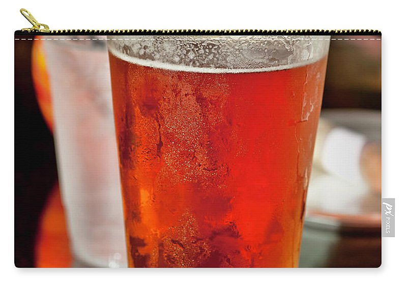 Hawaii Carry-all Pouch featuring the photograph Glass Of Beer by Dan McManus
