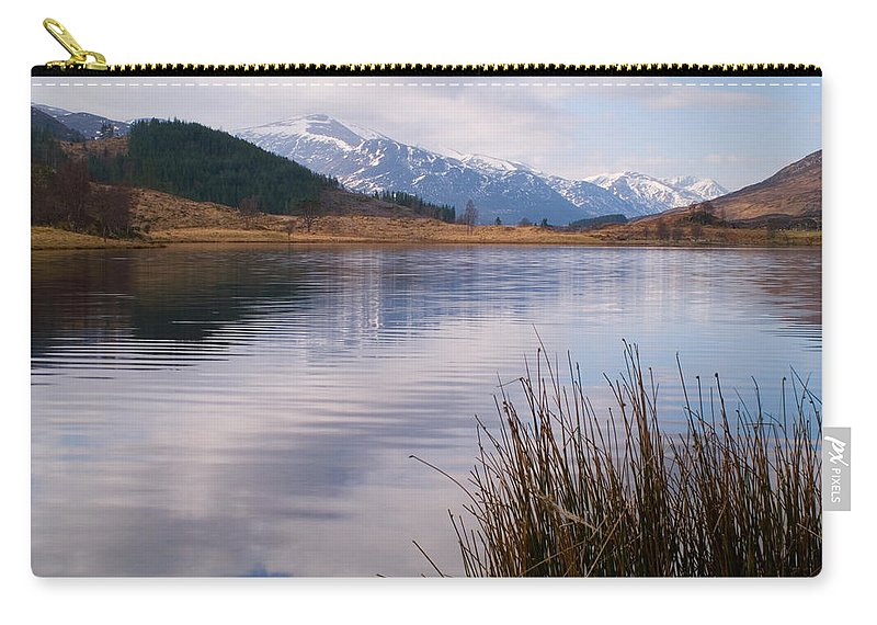 Scotland Carry-all Pouch featuring the photograph Glen Cannich by Howard Kennedy