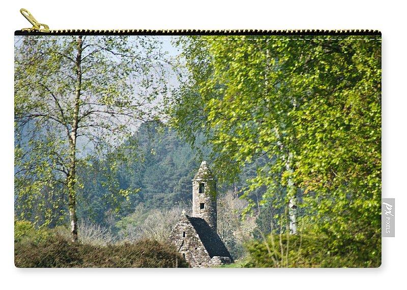 Glendalaugh Carry-all Pouch featuring the photograph Glendalaugh 1 by Douglas Barnett