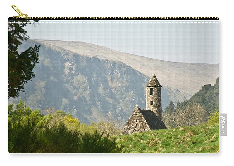 Glendalaugh Carry-all Pouch featuring the photograph Glendalaugh 5 by Douglas Barnett