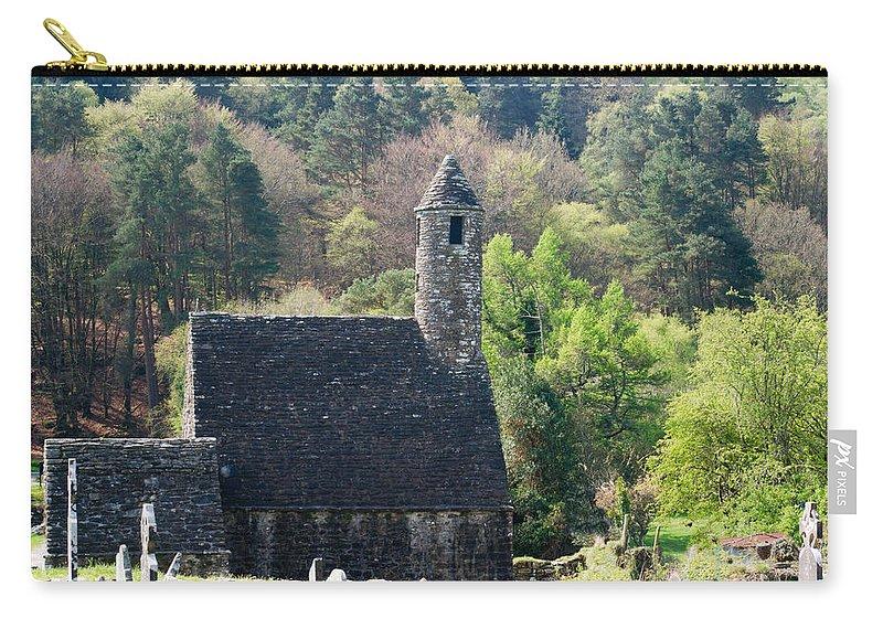 Glendalaugh Carry-all Pouch featuring the photograph Glendalaugh 7 by Douglas Barnett