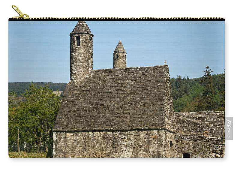 Glendalaugh Carry-all Pouch featuring the photograph Glendalaugh 9 by Douglas Barnett