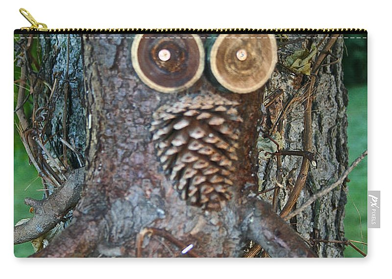 Fall Carry-all Pouch featuring the photograph Gnarly Pete by Susan Herber