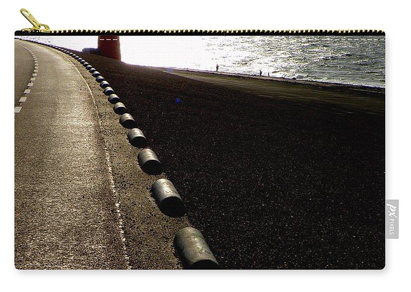 Light House Carry-all Pouch featuring the photograph Go Forward by Lainie Wrightson