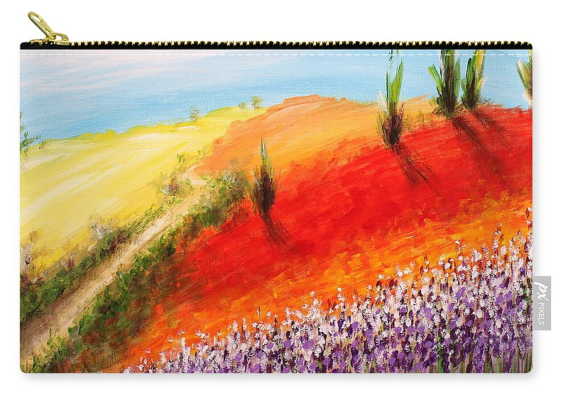 Home Carry-all Pouch featuring the painting Going Home by Kume Bryant