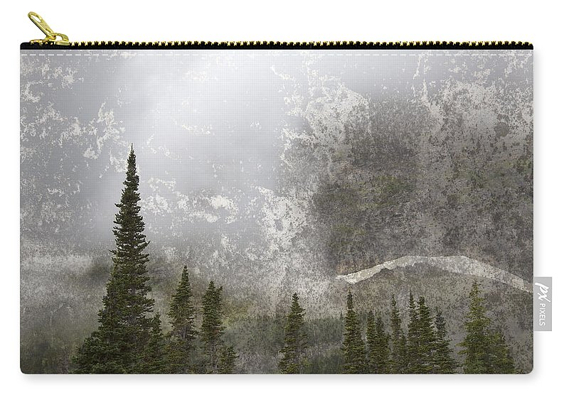 Tree Carry-all Pouch featuring the photograph Going To The Sun Road by John Stephens